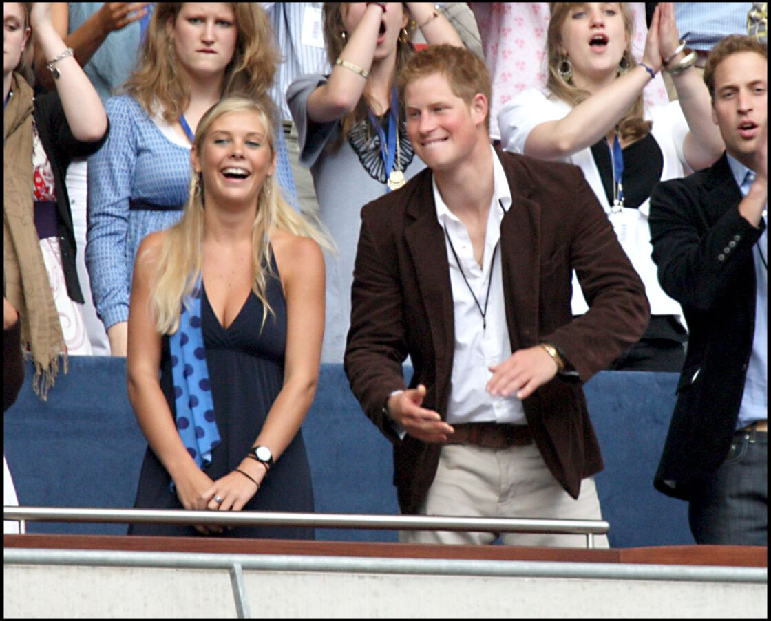 Harry avec Chelsy Davy, sa girlfriend de 2004 à 2010.