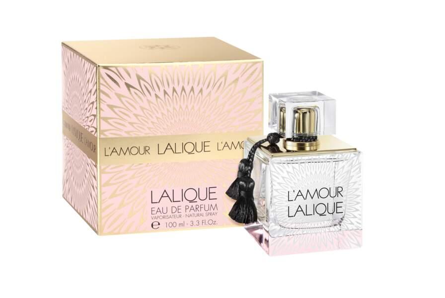 L'Amour Lalique, 50ml, 87€