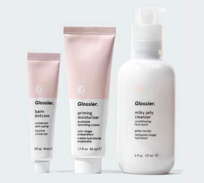 The Skincare Set, Glossier, 49€