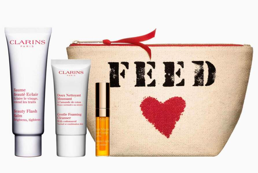 Trousse FEED, Clarins, 39€
