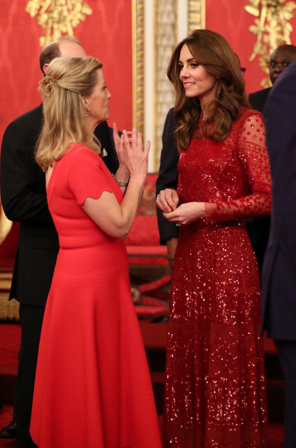 Kate Middleton et Sophie de Wessex : le duo réuni