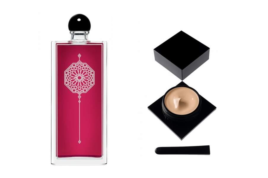 Fond de teint  et eau de parfum la Fille deBerlin, Serge Lutens, 160€ et 120€