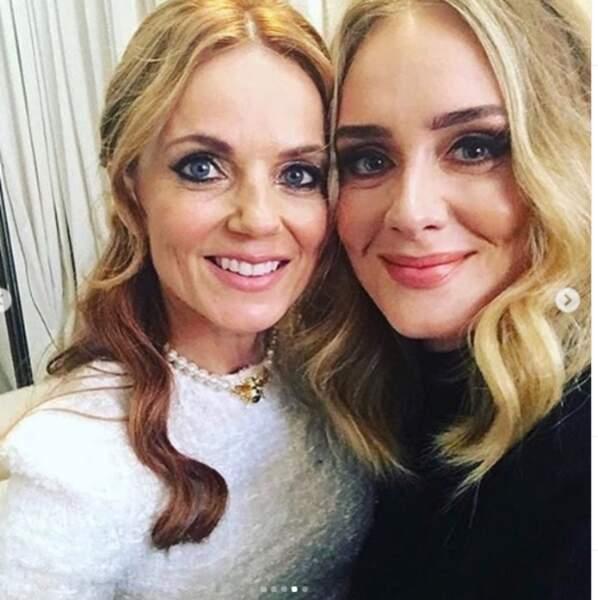 Juin 2019 : Adele, le visage visiblement affiné et prête à se rendre au concert des Spice girls.