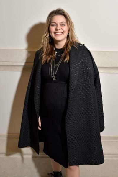 Louane a assisté, ce mercredi 22 janvier, à l'ultime défilé Haute-Couture de Jean-Paul Gaultier