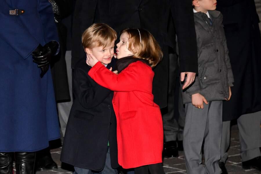 La princesse Gabriella semblait en effet très proche de son frère, le prince Jacques