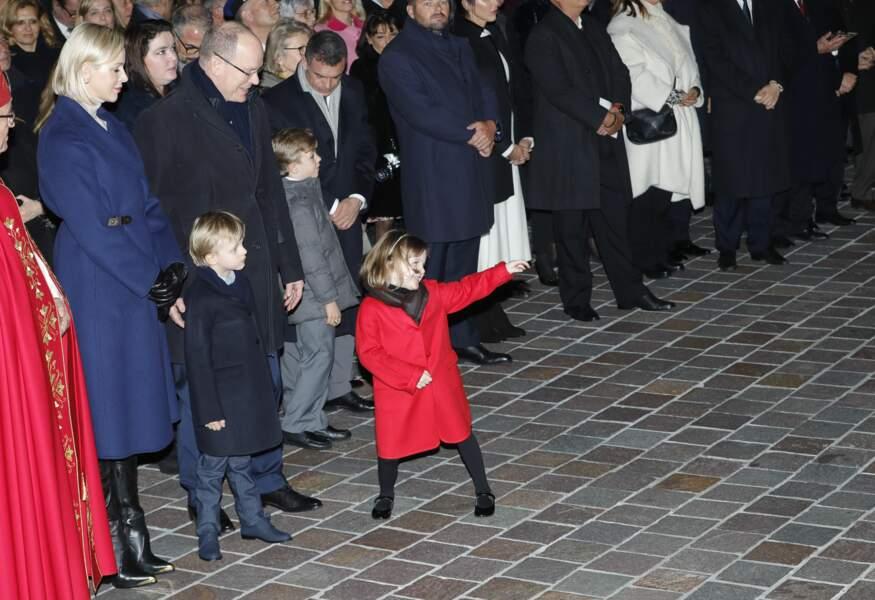 À seulement cinq ans, la princesse Gabriella fait déjà le show !