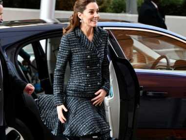 PHOTOS - Kate Middleton victime d'un petit accident vestimentaire : sa jupe s'envole encore