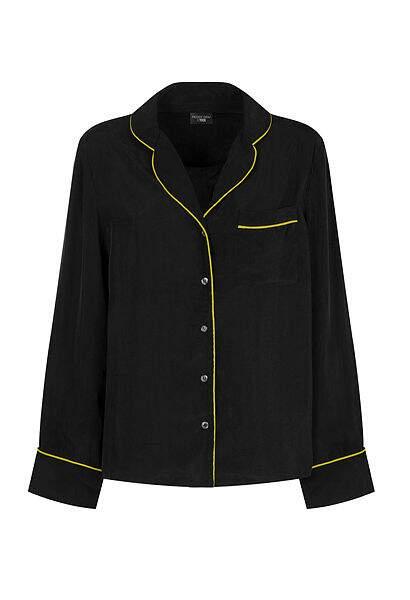Chemise en satin noire, Peggy Gou x Yoox, 79€