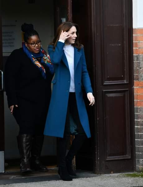 Kate Middleton affiche un look totalement nouveau et très séduisant.