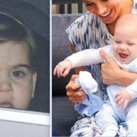 Pas de pitié: le prince Louis déjà mis en compétition avec son cousin Archie!