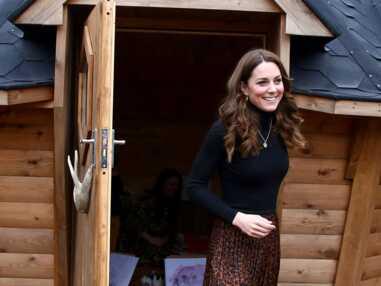 Photos : Kate Middleton, Pauline Ducruet, Letizia d'Espagne.. les reines du gotha craquent pour l'imprimé léopard