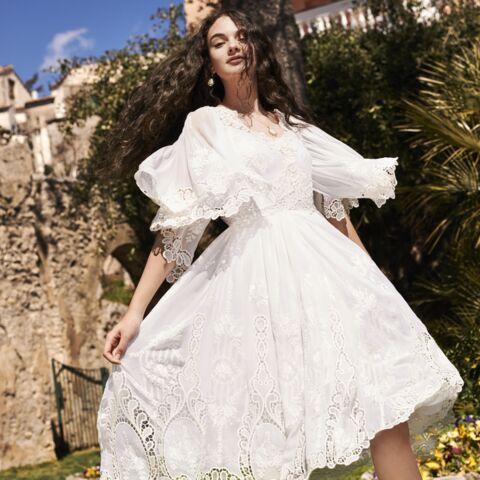 PHOTOS – Les 1ères images de Deva Cassel, la fille de Monica Bellucci, pour Dolce & Gabbana