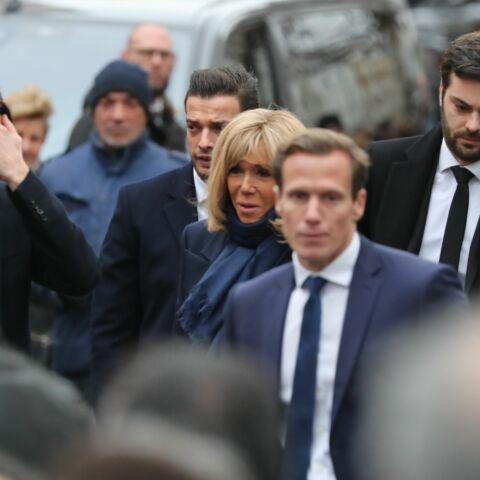 PHOTOS – Obsèques de Michou: Brigitte Macron et son neveu, au milieu d'un cortège VIP