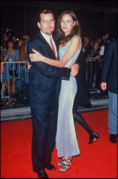 Charlie Sheen et Donna Peel