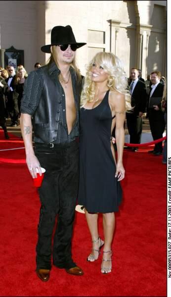 Pamela Anderson et Kid Rock