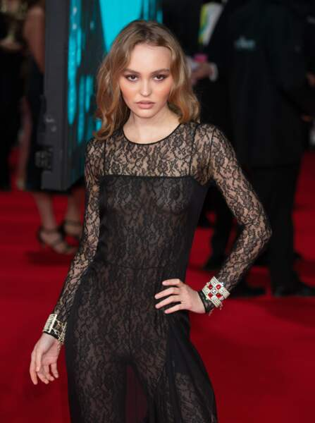 Une Lily Rose Depp sublime