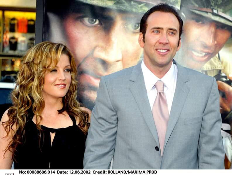 Nicolas Cage et Lisa Marie Presley
