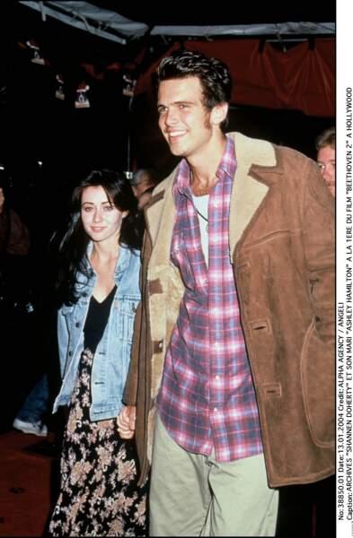 Shannen Doherty et Ashley Hamilton