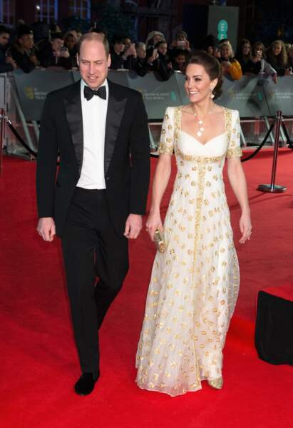 Kate Middleton recycle une robe Alexander McQueen.
