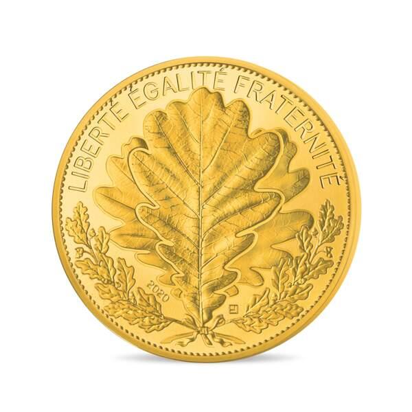 Pièce collection Nature de France, 250 €, La Monnaie de Paris.