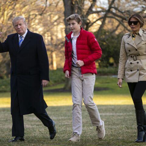Mais où est passé Barron, le fils de Melania et Donald Trump? Sa rareté inspire les plus folles rumeurs