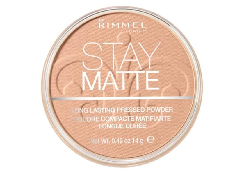 Poudre matifiante Stay Matte, Rimmel London, 9,90€