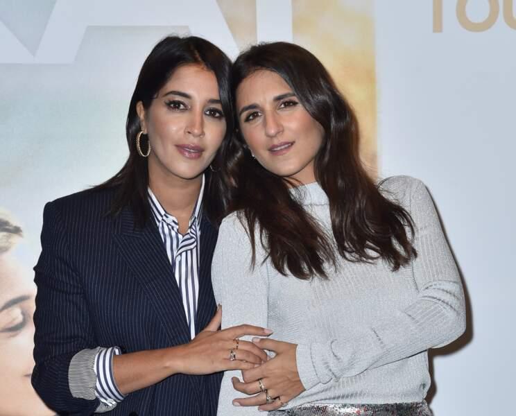 Leila Bekhti et Géraldine Nakache: glow et pommettes soulignées