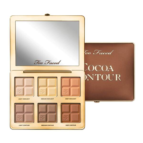 Cocoa Contour palette, Too Faced, 47€