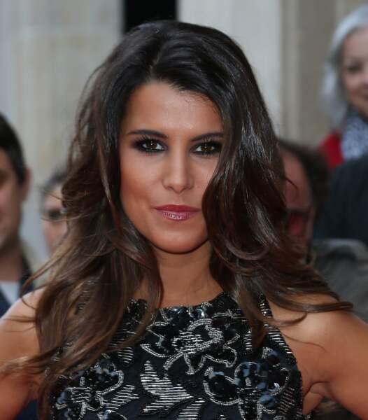 Karine Ferri: un visage bien dessiné