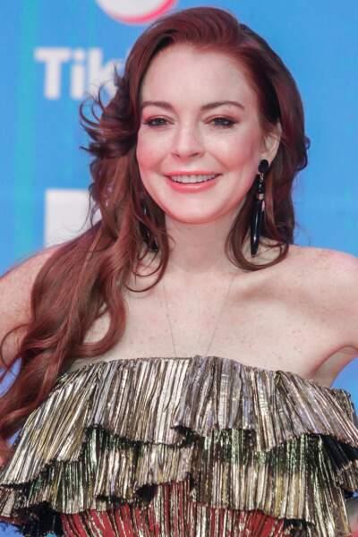 Le roux rouge de Lindsay Lohan