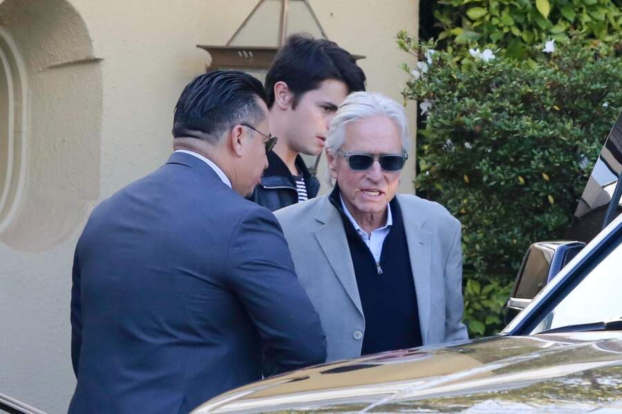 Michael Douglas était aussi soutenu par son fils Dylan Michael