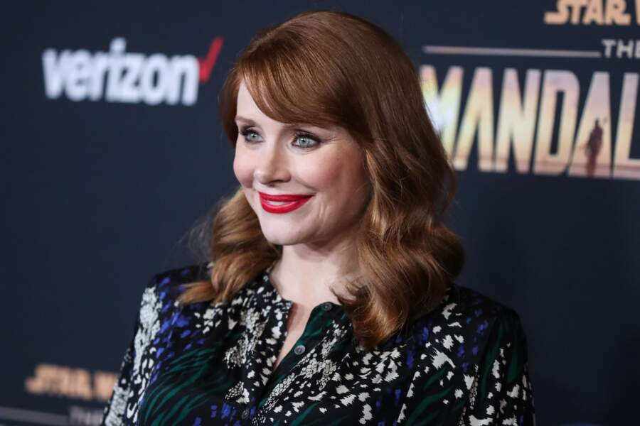 Le roux cuivré de Bryce Dallas Howard