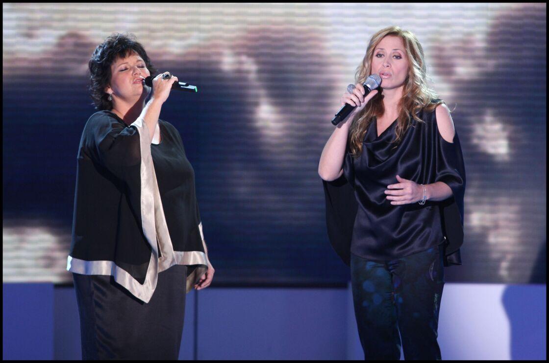 Maurane et Lara Fabian lors de l'émission