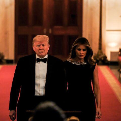 PHOTO – Melania Trump élégante en noir au côté de son mari pour un événement très spécial