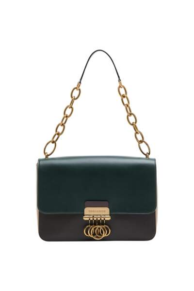 Sac Key bag en cuir bicolore, 1150 €, DSQUARED2.