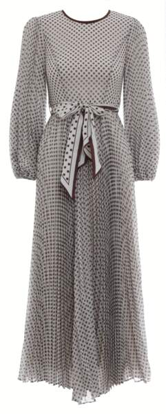 Robe Sunray en soie, 695 €, Zimmermann.