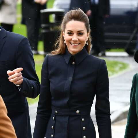 PHOTOS – Kate Middleton surprend avec une veste d'inspiration militaire