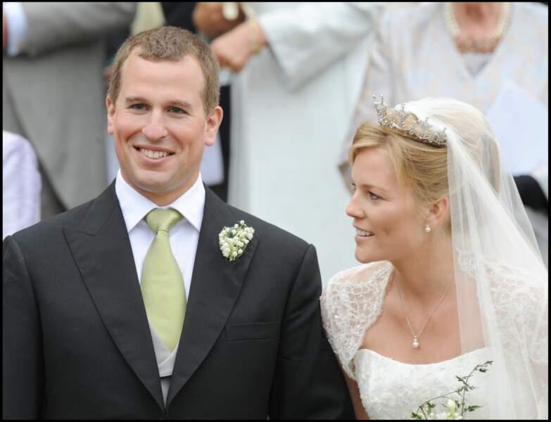 Fils aîné de la princesse Anne, Peter Phillips est le premier petit-enfant d'Elizabeth II à s'être marié.