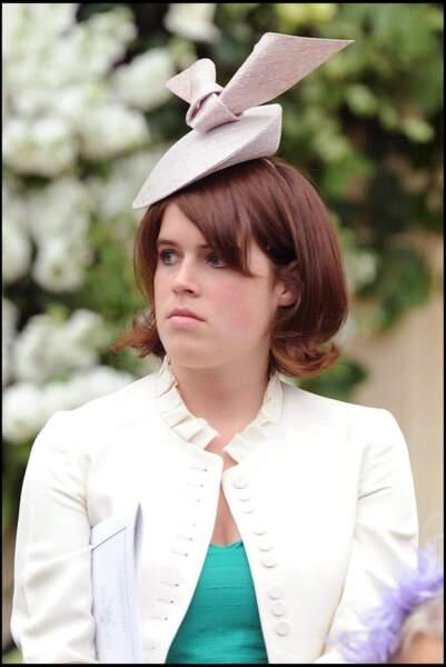 Egalement présente aux noces d'Autumn et Peter Phillips, la princesse Eugenie, qui se mariera à son tour en la chapelle St George de Windsor, dix ans plus tard, le 12 octobre 2018.