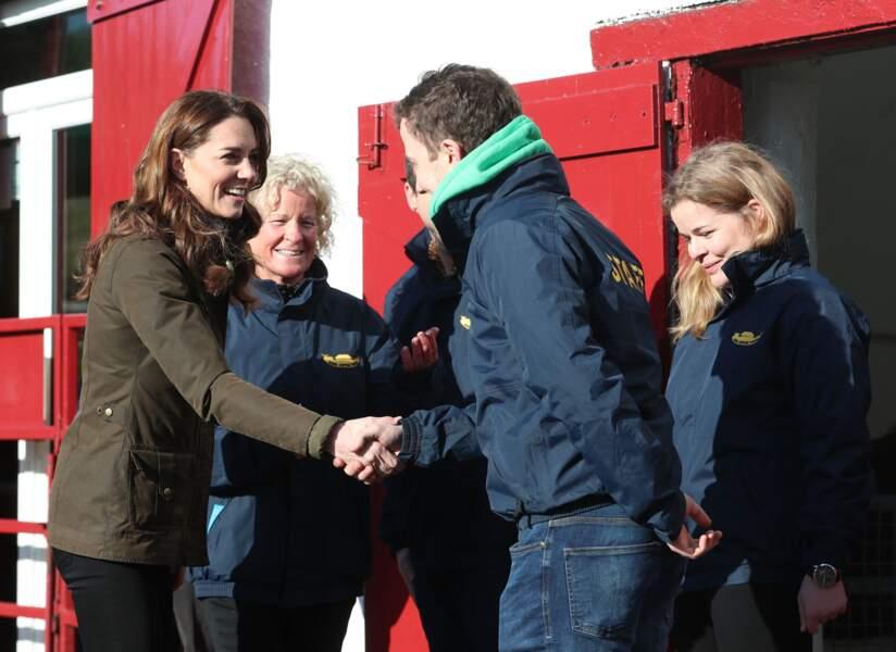 Ce déplacement de Kate Middleton en Irlande du Nord s'inscrivait dans le cadre de son enquête Big 5 Questions on the Under Fives, dédiée au besoin des enfants et menée dans tout le Royaume-Uni jusqu'au 15 février.