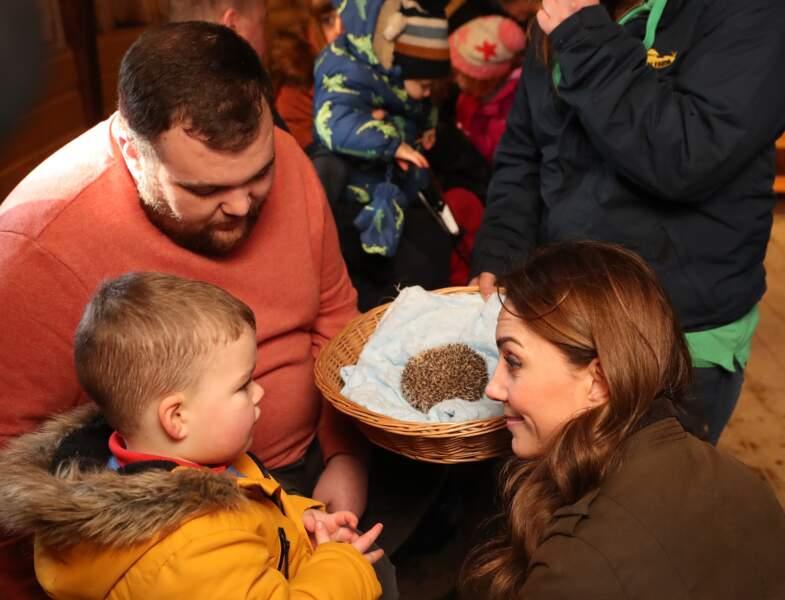 Spécialisée dans l'élevage et la préservation d'espèces rares ou protégées, la ferme The Ark Open a permis à Kate Middleton des enfants en bas âge.