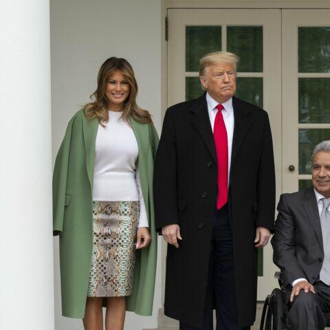 PHOTOS – Melania Trump: cette jupe en python à 5500 euros qui n'en finit plus de faire parler