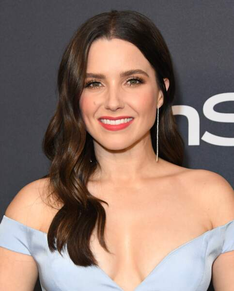 "Sophia Bush au Photocall de la soirée ""InStyle and Warner Bros"" au Beverly Hilton Hotel à Los Angeles, le 5 janvier 2020"