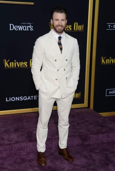 Chris Evans (38 ans)