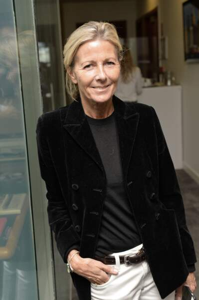 Claire Chazal à l'opération Charity Day à Paris le 11 septembre 2019