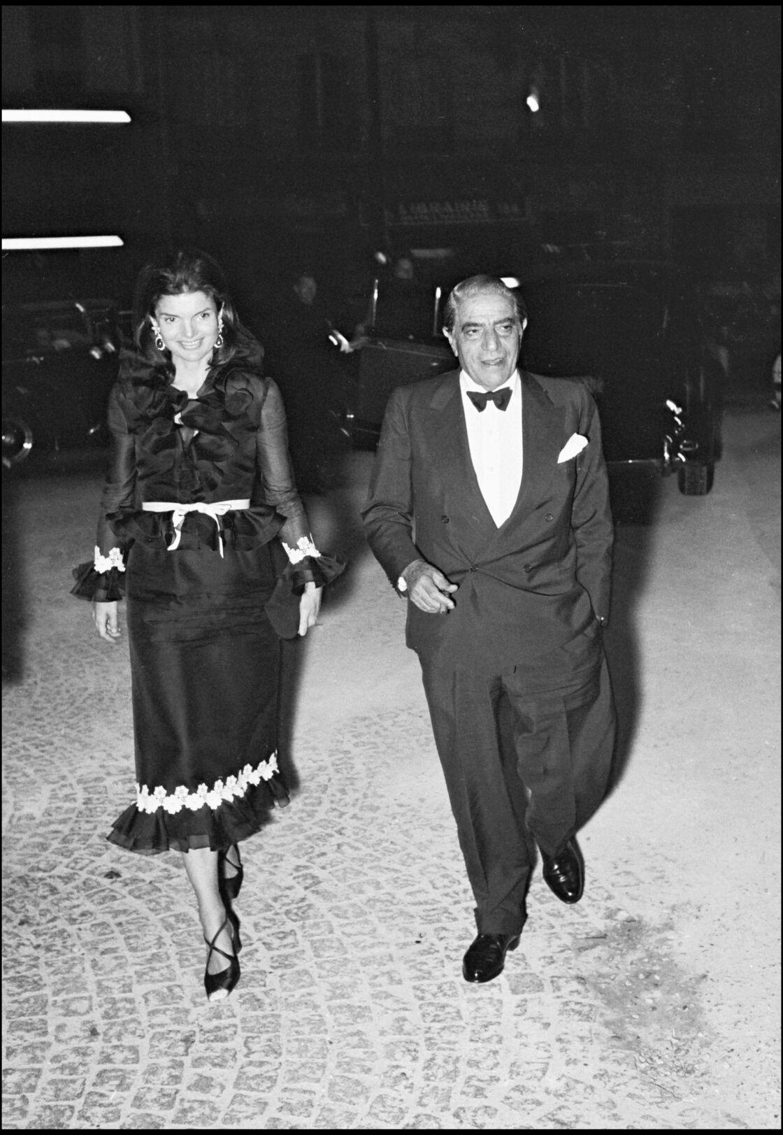 Jackie Kennedy et son époux Aristote Onassis en 1970