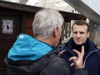 PHOTOS - Emmanuel Macron : sa tenue de ski fait parler
