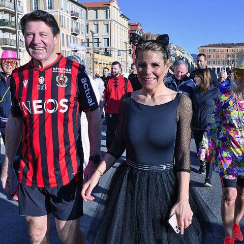 PHOTOS – Laura Tenoudji et Christian Estrosi déguisés au carnaval de Nice: ils rivalisent d'imagination!