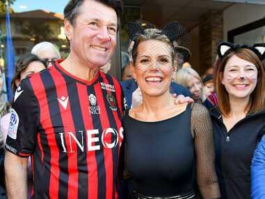 PHOTOS - Laura Tenoudji et Christian Estrosi déguisés au carnaval de Nice : ils rivalisent d'imagination !