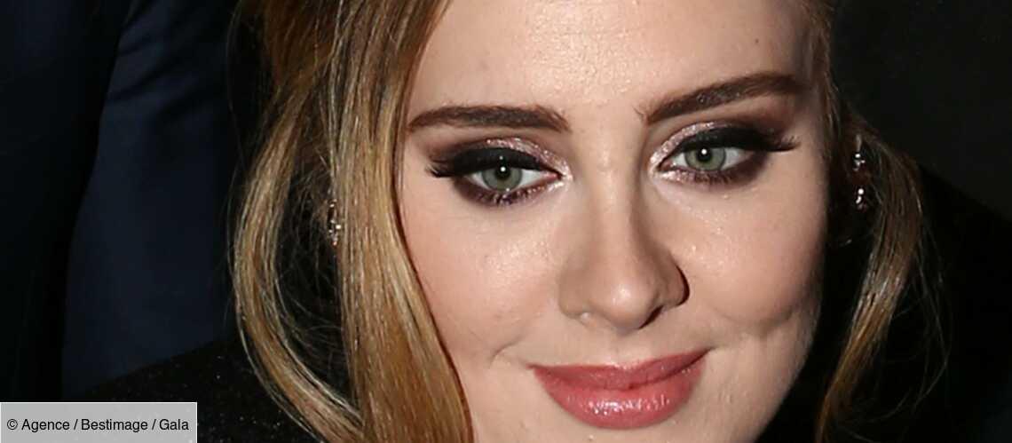 PHOTOS – Adele, amincie, affiche fièrement sa nouvelle silhouette au mariage de sa meilleure amie - Gala